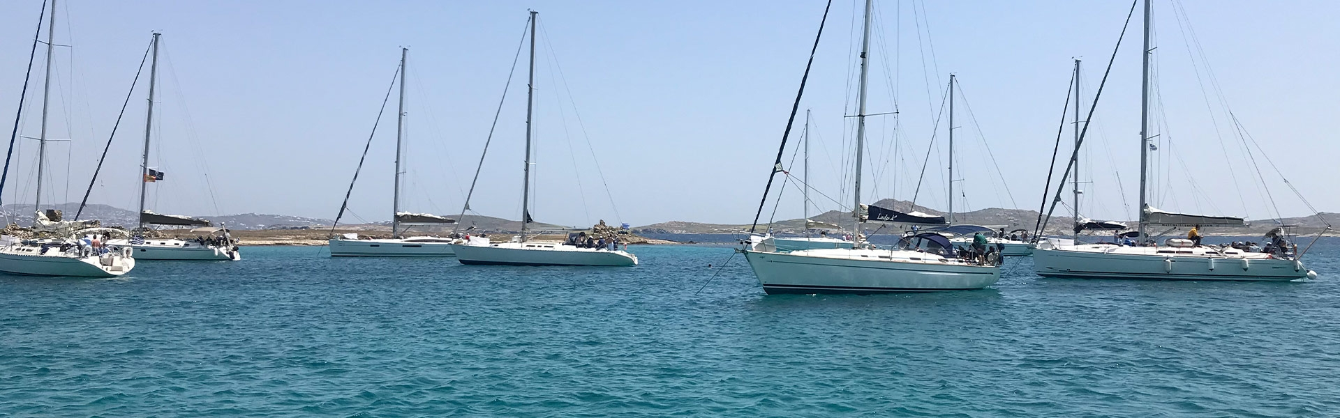 Who will get first? Sailing Regatta to Delos